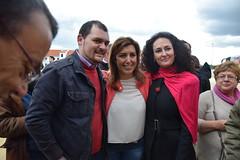 29-03-14 Da de la Rosa en Aracena con Susana Daz (Agrupacin Provincial del PSOE de Huelva) Tags: huelva rosa susana da psoe daz