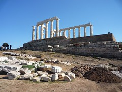 20140411 51 Greece Attica Cape Sounion Temple Of Poseidon (Sjaak Kempe) Tags: 2014 lente griekenland greece ελλάδα ελλάσ cape sounion kaap soenion aκρωτήριο σούνιο attica αττική temple poseidon tempel van spring