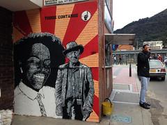 Todos contamos (Juegasiempre) Tags: street urban black art painting graffiti calle stencil mural colombia arte bogotá negro campo urbano farmer popular negra diversidad campesinos campesino estencil arteurbano estarcido djlu juegasiempre bogotástreetart