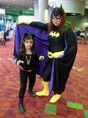 Bat & Cat (Wrath of Con Pics) Tags: cosplay batman batgirl dccomics catwoman barbaragordon momocon momocon2015