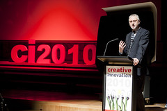 Minister for Innovation Gavin Jennings launches CI 2010