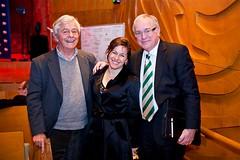 Charles Wallace-Crabbe, Tania de Jong & Alan Kohler