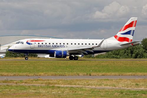 Embraer 170STD (ERJ-170-100STD) G-LCYG