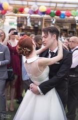 Photograph 010 - Sing Along (AJ Charlton Photography) Tags: park uk roof wedding bw white black london dan cake aj photography dance nikon married daniel july 18th reception d750 kia dalston ajc charlton