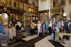 54. In the Dormition Cathedral / В Успенском соборе