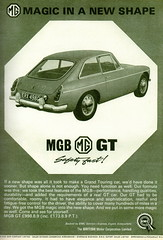 MG MGB GT (1965) (andreboeni) Tags: classic car automobile cars automobiles voitures autos automobili classique voiture retro auto oldtimer klassik classica publicity advert advertising advertisement mg mgb gt mgbgt pininfarina