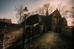 Heusden (bjdewagenaar) Tags: heusden dutch holland street city urban building architecture church pavement bricks old century wideangle sigma 1020mm 10mm sony a58 raw lightroom photoshop
