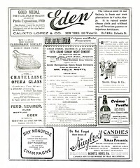 New York Advertisements: (painting in light) Tags: 1903 ad advert advertisement sell selling illustration drawing vintage new york newyork cigar wine tobacco cigarettes