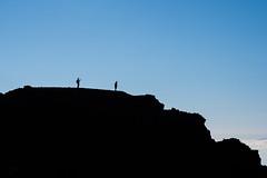On the hill (Frank Lindecke) Tags: blue vacation holiday black backlight clouds spain urlaub wolken tenerife blau teide teneriffa schwarz spanien gegenlicht kanarischeinseln guadeisora