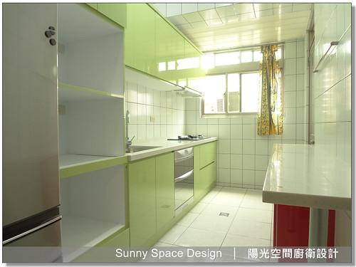 廚具大王林易延-作品187-桃園建國路曾先生二字型廚具-陽光空間精品廚具有限公司