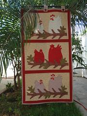 Panô Galinhas (Paty Patch) Tags: patchwork galinhas panô