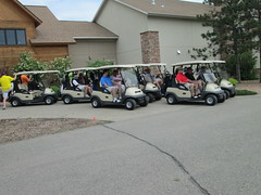 (University of Minnesota, Morris Alumni Association) Tags: golf athletes cougar alumni umm outing cougars cougarfootball