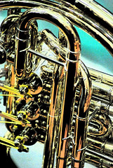 tuba 2 (rnasset) Tags: art pipes musical tuba instruments brass tubing valves
