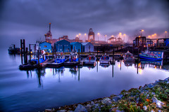 Port at Dawn (Phil Wyles) Tags: original canada vancouver downtown phil harbour cityscapes wyles vancouverstreetscenes philwyles photoshopphotoshoporiginal discovervancouver