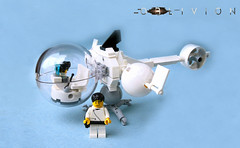 Oblivion Bubble VTOL (.Bricko) Tags: ship lego air tomcruise scifi oblivion vtol