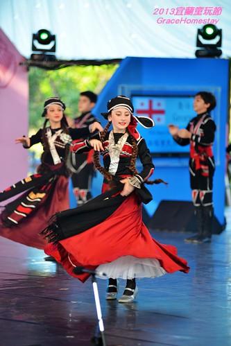 2013.Yicf,Yilan..喬治亞 凱拉塔里民俗舞蹈團 Folk Dance Group Kelaptari ~Gracehomestay~