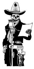 hopalong (Danny Martin art) Tags: southwest art cowboy tucson hopalong