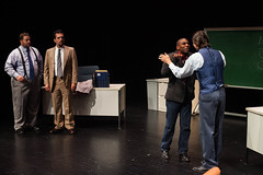 Glengarry Glen Ross - Reunion show (fiu) Tags: show reunion ross theater glen acting fiu glengarry