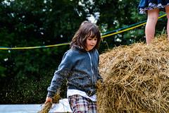 Nicky (darkishcloud) Tags: playing farm straw haystack hay