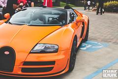 Bugatti Vitesse (araikyegi) Tags: auto orange car sport photography monterey grand automotive super exotic week hyper bugatti genuine vitesse