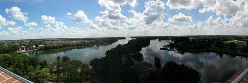 Panorama j.Gopło z Mysiej Wieży
