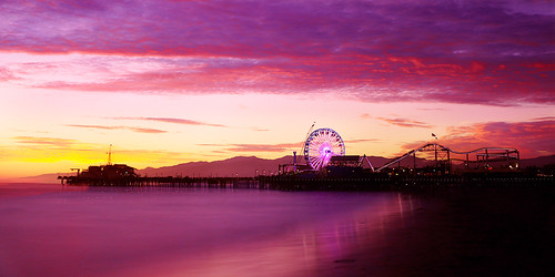 Santa Monica Pier - Sunset