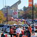 """Tailgating spots near the stadium are coveted. • <a style=""""font-size:0.8em;"""" href=""""http://www.flickr.com/photos/49650603@N07/9773086876/"""" target=""""_blank"""">View on Flickr</a>"""