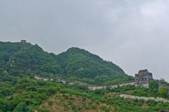 Eastern end of the Great Wall in Dandong, China (lucien_muller) Tags: china city nikon border greatwall northkorea dprk dandong d7000 nikond7000