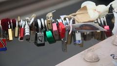 Padlocks (Nubia Bastos) Tags: nyc bridge ny love brooklynbridge padlocks