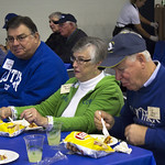 """<b>Football Alumni Gathreing</b><br/> Former football players and their families gathered for a luncheon over homecoming weekend to celebrate 100 years of Luther College football. Photo by Breanne Pierce<a href=""""http://farm4.static.flickr.com/3796/10139473743_17534f932d_o.jpg"""" title=""""High res"""">∝</a>"""