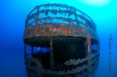 Pecio norte (Marcos Daro Petraroia) Tags: mediterraneo underwater scuba diving wreck mallorca islas baleares roja