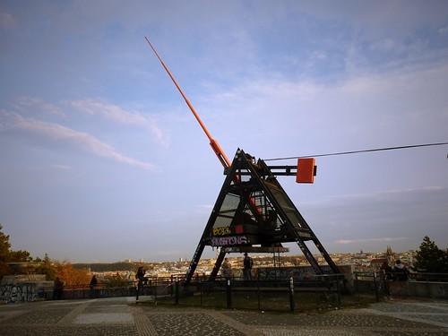 Métronome géant, Prague, République Tchèque