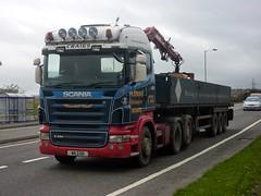 W6 COD (Cammies Transport Photography) Tags: road truck ian lorry craig denny scania grangemouth falkirk of r480 w6cod