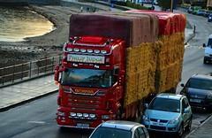 (Zak355) Tags: truck scotland lorry hay scania lhd rothesay isleofbute philipjudgeinternational pj10hay