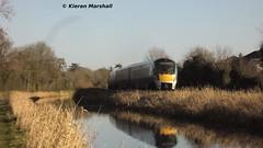 22029 outside Maynooth, 20/1/14 (hurricanemk1c) Tags: irish train rail railway trains railways maynooth irishrail rok rotem 2014 icr iarnród 22000 22029 éireann iarnródéireann 4pce 1100sligoconnolly
