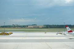 2013-08-13 | 12-32-55 (joakm) Tags: reflection airport aeroplane outdoorlight