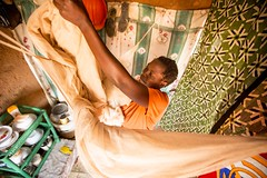 Insecticide-treated nets working to dramatically curb malaria in Zambia (The Global Fund) Tags: net home health prevention disease zambia global infection finance fund malaria insecticide decrease chirundu