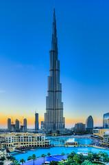 Burj Khalifa (Muhammad Al-Qatam) Tags: blue sunset fountain nikon dubai 5 pro hdr d300 photomatix nikkor18200mmvr dubaimall burjkhalifa malqatam muhammadalqatam coverscomp