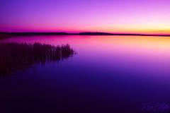 Sunset at Blankensee II (.vermilion) Tags: longexposure sunset lake landscape see sonnenuntergang landschaft brandenburg langzeitbelichtung blankensee neutraldensityfilter canonefs1855mmf3556 graufilter canoneos50d neutraldichtefilter blinkagain