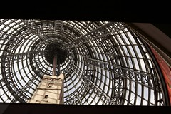 Shot Tower, Melbourne Central (Salle-Ann) Tags: architecture concentric oldandnew melbournecentral shottower