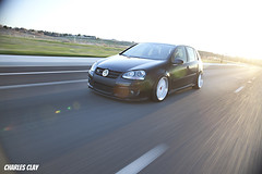 Rolling Shot (Charles Clay) Tags: air bags gti bbs select slammed scrape on