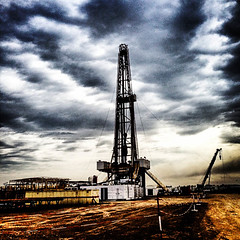 Drilling Rig, Halfaya Oilfield, Iraq
