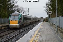 "22031 departs Portlaoise, 21/3/14 (hurricanemk1c) Tags: irish train rail railway trains railways rok rotem 2014 portlaoise 22031 icr iarnród 22000 éireann class"" ""irish rail"" éireann"" ""premier ""iarnród 1320corkheuston 5pce"