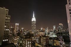 Empire State (Barney A Bishop) Tags: newyorkcity nightphotography skyline landscape lights cityscape samsung noflash skyscapper nx30 imagelogger ditchthedslr