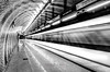 Speed of light (Faalma) Tags: longexposure light bw white black subway blackwhite long hungary budapest d7000 bestcapturesaoi