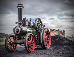 Coaling up  **Explored** (Blaydon52C) Tags: vintage traction engine historic steam beamish louise explored claytonandshuttleworth