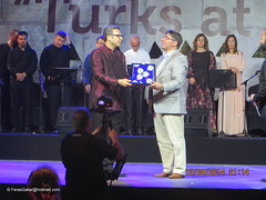 Turkish Ambassador in KATARA - Qatar (Feras Qaddura) Tags: festival dance village first folklore dancer turks turkish cultural doha qatar katara 2014