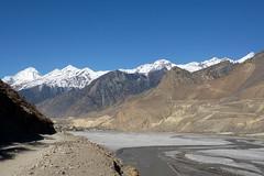 Nochmals einen Blick zurck nach Jomsom (Alfesto) Tags: nepal trekking himalaya jomsom kagbeni kaligandaki kaligandakital knigreichmustang