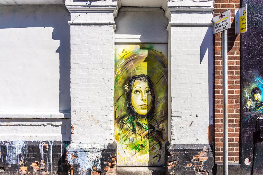 What's Left Of The Street Art On Little Green Street