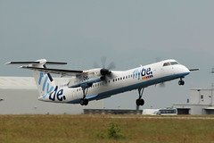 DHC-8Q-402 Dash 8, G-KKEV (WestwardPM) Tags: dash8 flybe newquayairport newquaycornwallairport dehavillandcanada dhc8q402